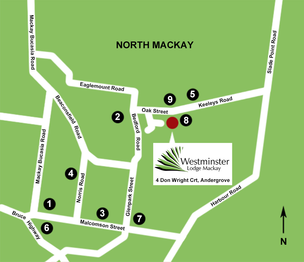 Westminster Lodge residential community map